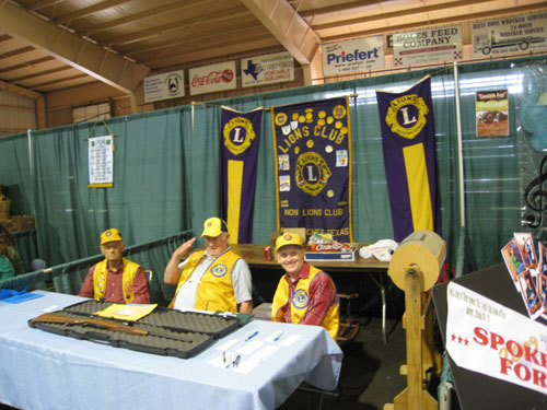 LIONS CLUB BOOTH